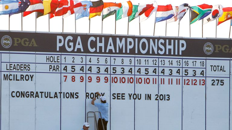 The PGA Championship returns to Kiawah Island, where Rory McIlroy stormed to victory in 2012
