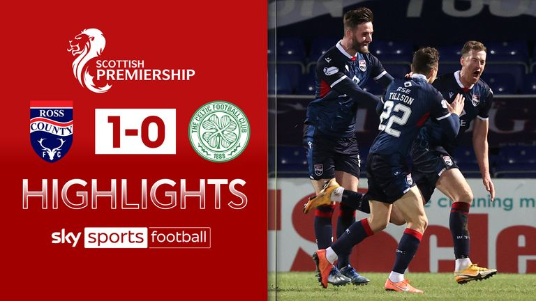 SPFL: Ross County v Celtic