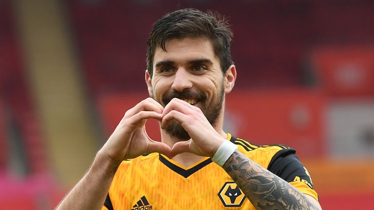 Ruben Neves had a message for Wolves supporters on Valentine's Day