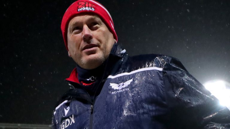 Scarlets head coach Glenn Delaney saw his side return to winning ways