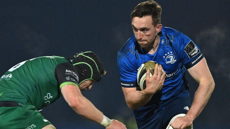Jack Conan makes his 100th Leinster appearance