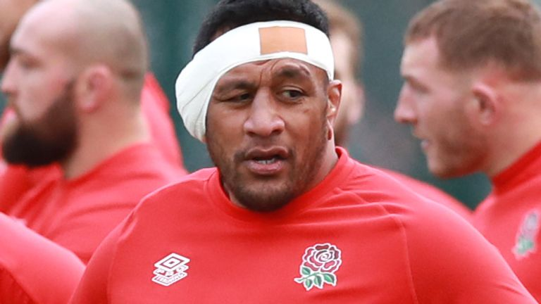Mako Vunipola missed England's defeat to Scotland with an Achilles injury