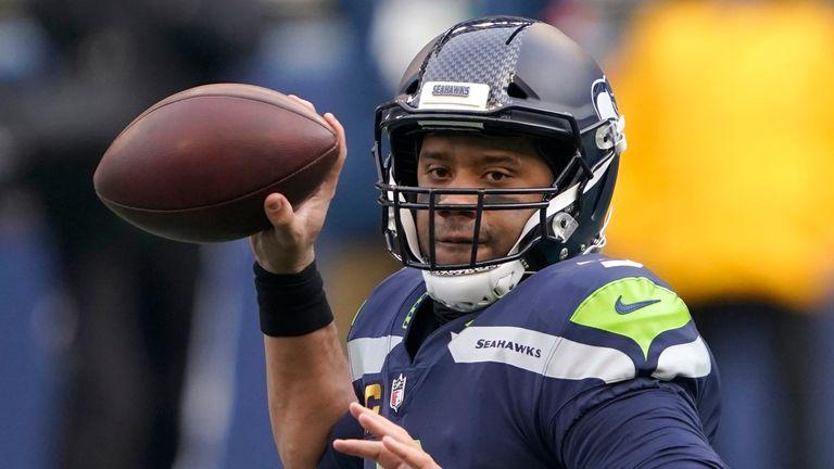 Seattle Seahawks quarterback Russell Wilson (AP Photo/Ted S. Warren)