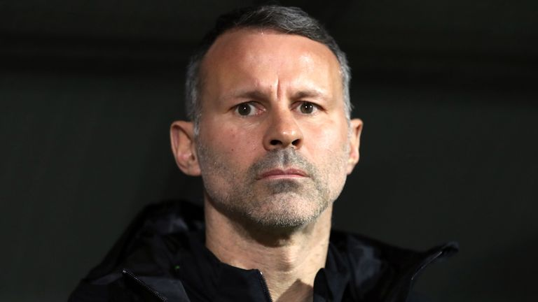 Wales manager Ryan Giggs during the UEFA Euro 2020 Qualifying match at the Bakcell Arena, Baku. PA Photo. Picture date: Saturday November 16, 2019. See PA story SOCCER Azerbaijan. Photo credit should read: Bradley Collyer/PA Wire.