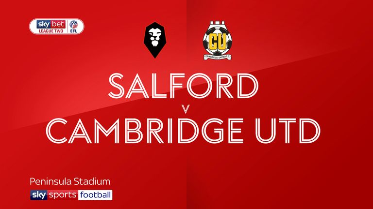 Salford 4-1 Cambridge