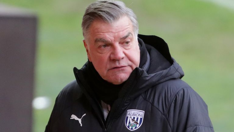 West Brom manager Sam Allardyce (PA image)