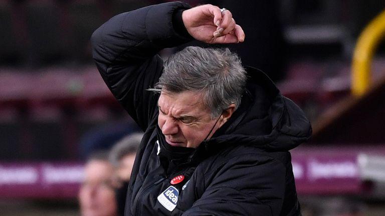 West Brom manager Sam Allardyce (AP image)