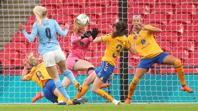 MacIver made a number of world-class saves throughout the FA Cup final