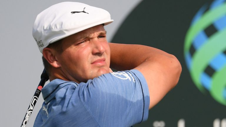 Bryson DeChambeau is one of four players from the world's top ten in action this week