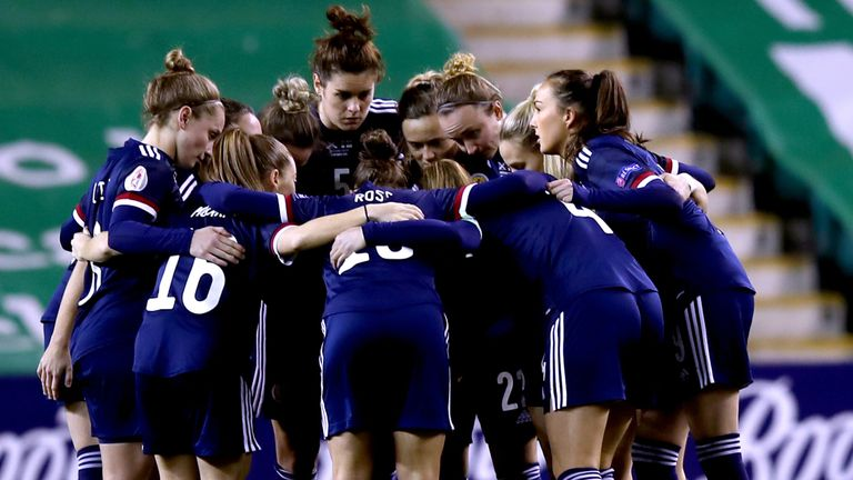 Scotland missed out on Euro 2022 qualification after losing to Finland in December