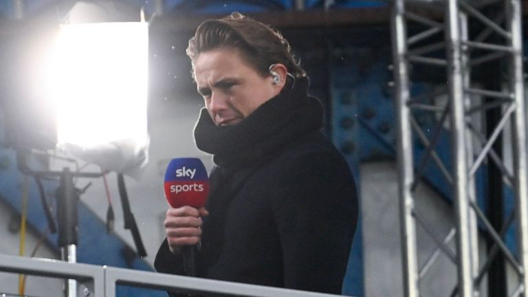 Scott Allan has worked with Sky Sports during his time on the sidelines