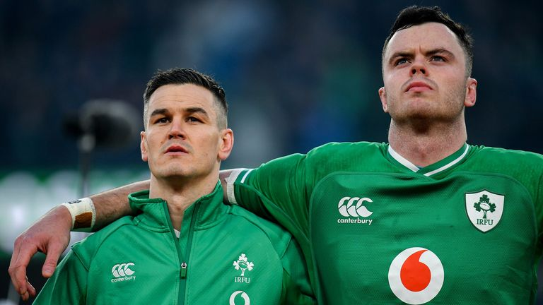 Ireland missed Sexton, James Ryan (right), Conor Murray and Peter O'Mahony in the tight loss to France in Dublin