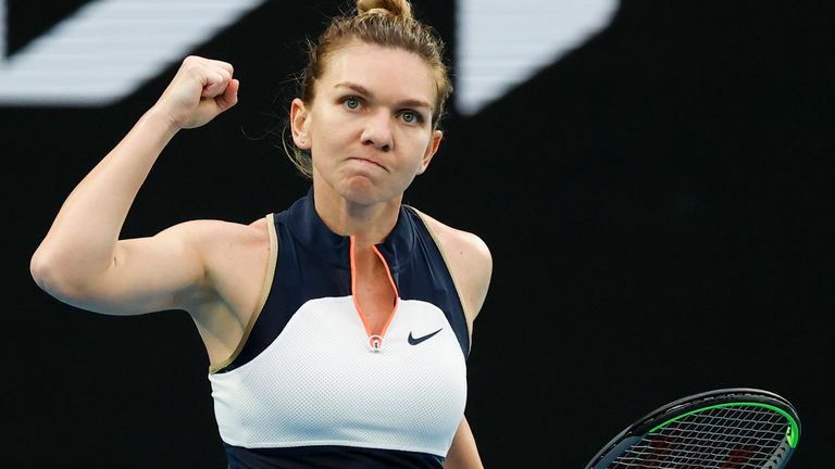 Simona Halep is determined to kick off her European clay-court season in winning-fashion