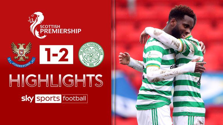 Celtic beat St Johstone