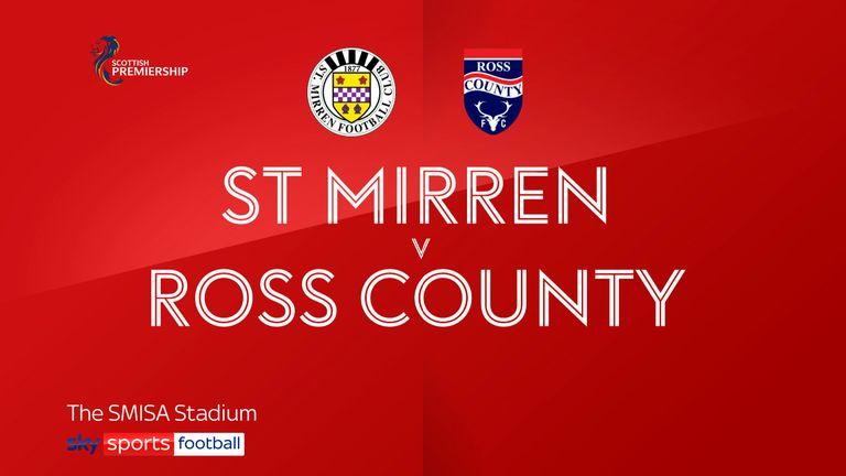 St Mirren v Ross County