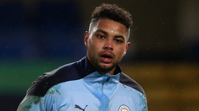 File photo dated 03-01-2021 of Manchester City goalkeeper Zack Steffen warms up before the Premier League match at Stamford Bridge, London. Issue date: Wednesday February 24, 2021.