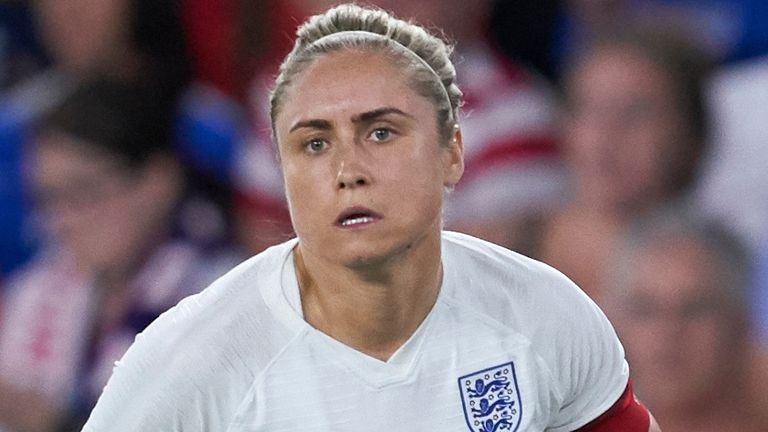 England Women captain Steph Houghton