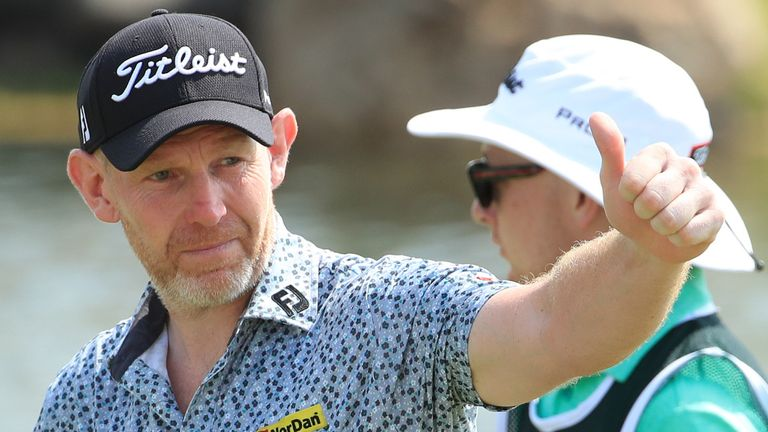 Stephen Gallacher carded the lowest opening round of his European Tour career