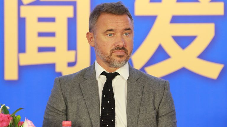 Stephen Hendry will make his snooker comeback at the Gibraltar Open in Milton Keynes next week (Imaginechina via AP Images)