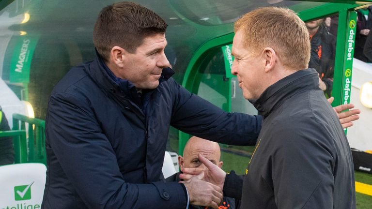 Steven Gerrard says he is not surprised by Neil Lennon's departure from Celtic
