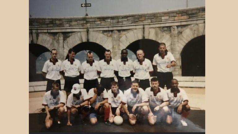 Stonewall FC at 1994 Gay Games