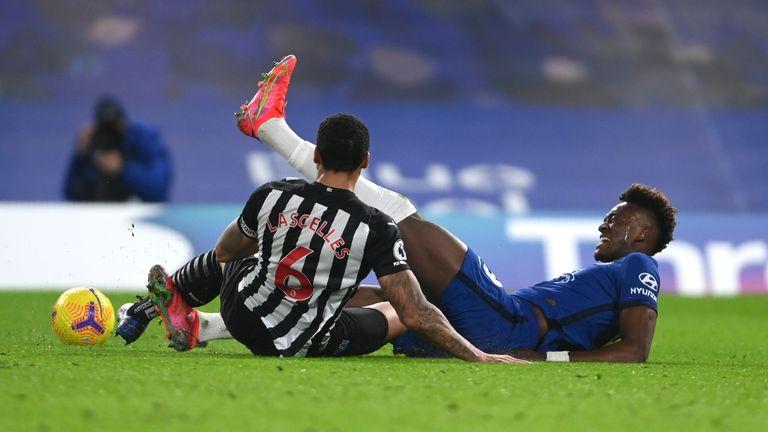 Lascelles' tackle on Abraham