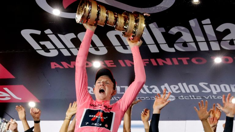 Tao Geoghegan Hart will not defend his Giro d'Italia title but make his Tour de France debut instead