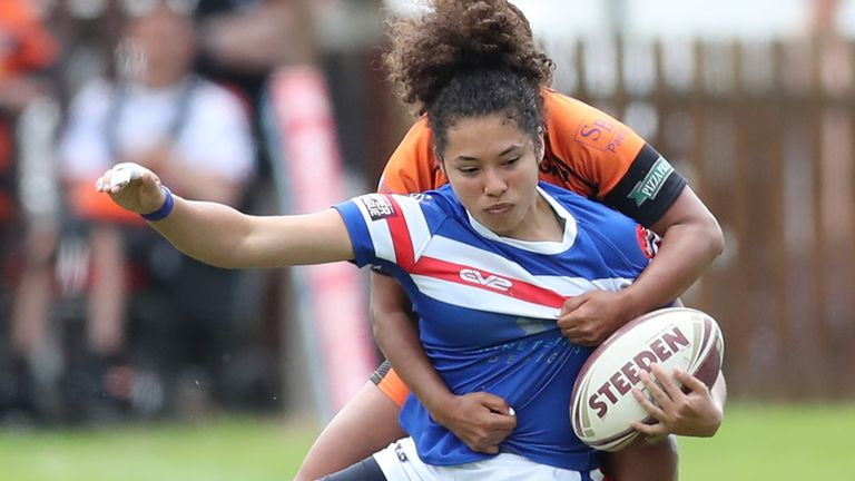 Tara Moxon starred for Wakefield and has joined Leeds for the 2021 season