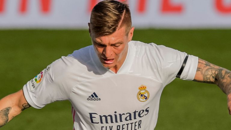 Toni Kroos was on the scoresheet for Real Madrid