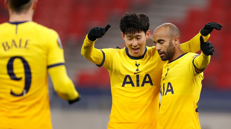 Tottenham were grateful to having such a handsome lead by the interval