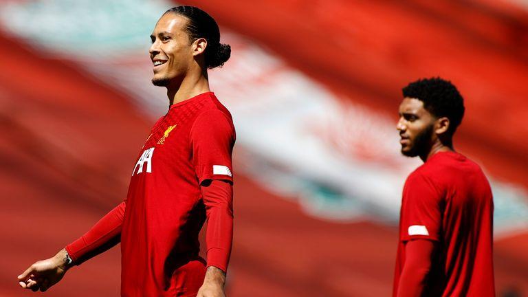 Virgil van Dijk and Joe Gomez are both doubts to play again this season with knee injuries