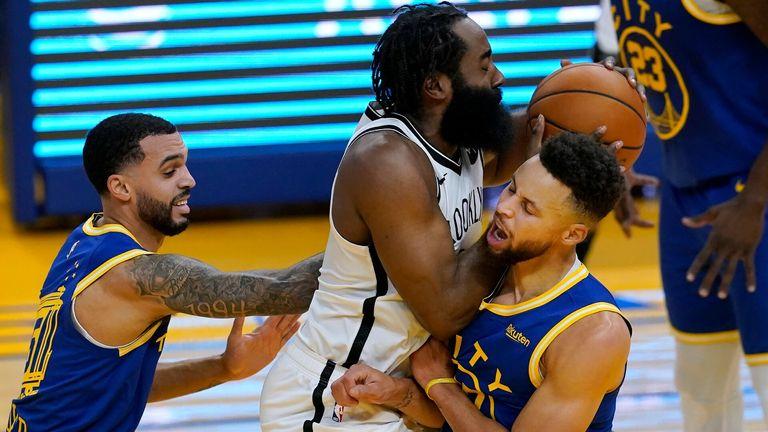 NBA: Warriors v Nets