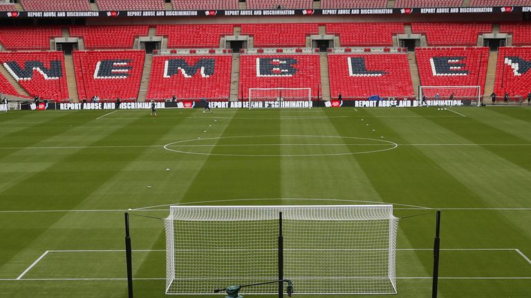 Wembley stadium will host two Papa John's Trophy Finals in one weekend next month