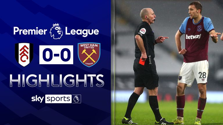 Fulham v West Ham Highlights