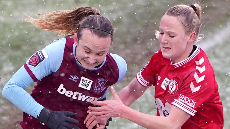 West Ham and Bristol City played out a 1-1 draw