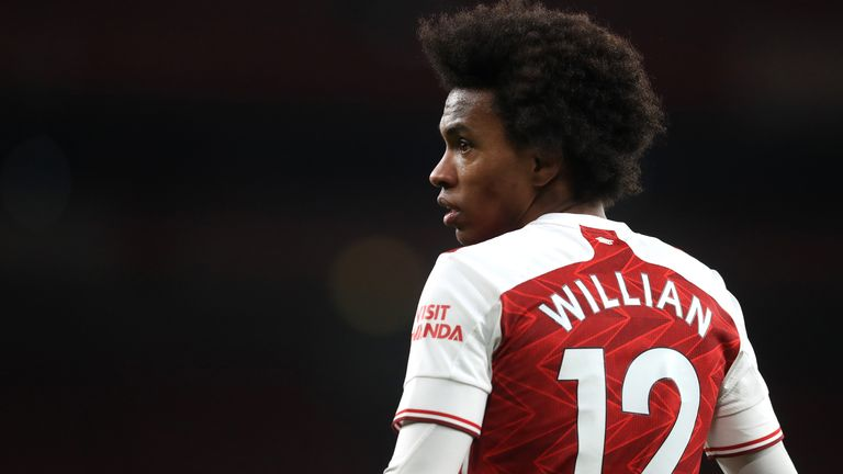 Willian, Arsenal