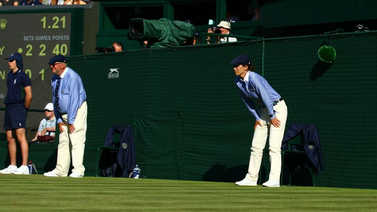 Wimbledon could follow this year's Australian Open in removing line judges