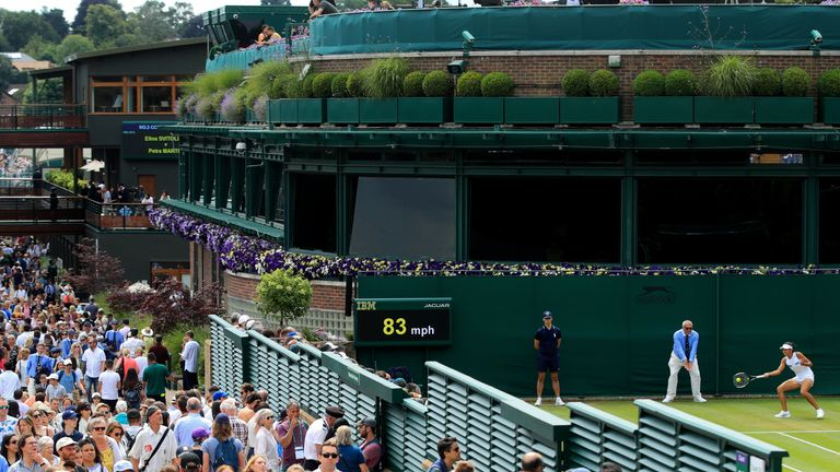 Organisers are expecting Wimbledon to go ahead with a reduced capacity