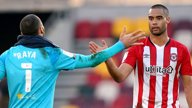 Brentford maintained their automatic promotion push with a 2-1 win over Stoke