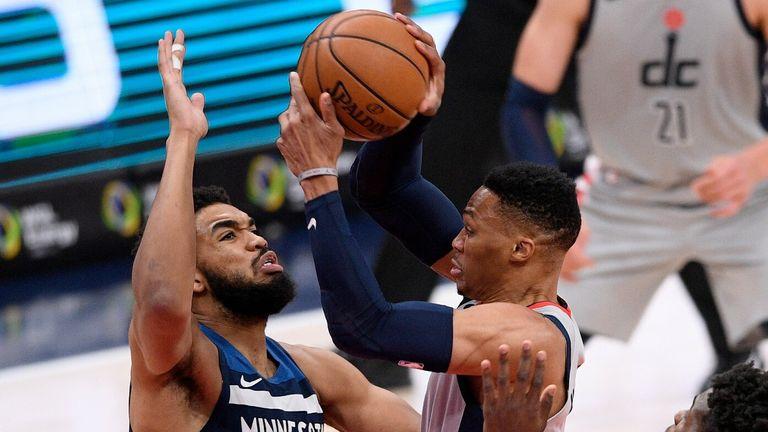 NBA: Wizards v Timberwolves