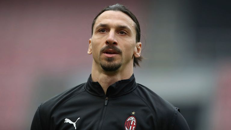 Zlatan Ibrahimovic was subjected to racist abuse in Serbia last week