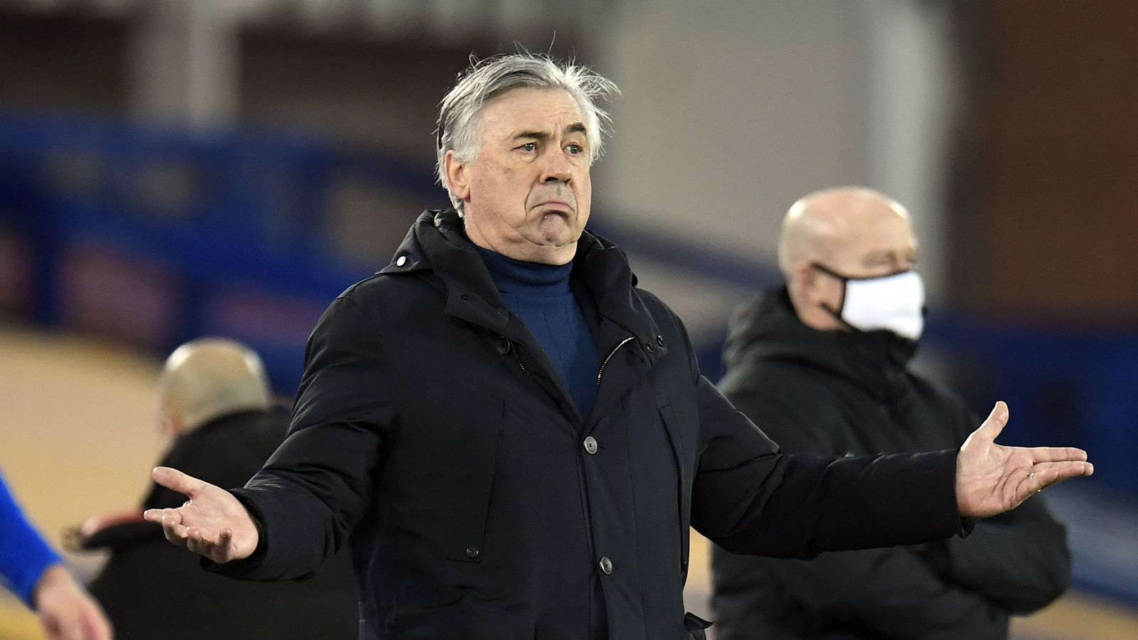 Carlo Ancelotti: Everton manager urges players to 'embrace ambition' of European football