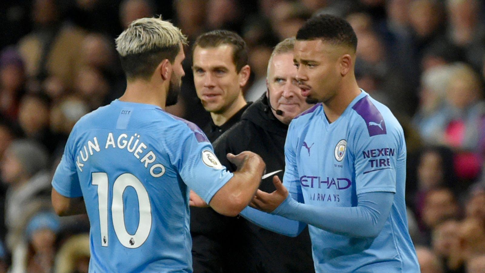 Gabriel Jesus: Man City striker on learning to be like Sergio Aguero
