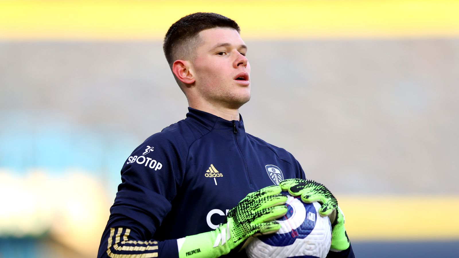 Illan Meslier: Marcelo Bielsa says Leeds goalkeeper has 'personality and character'