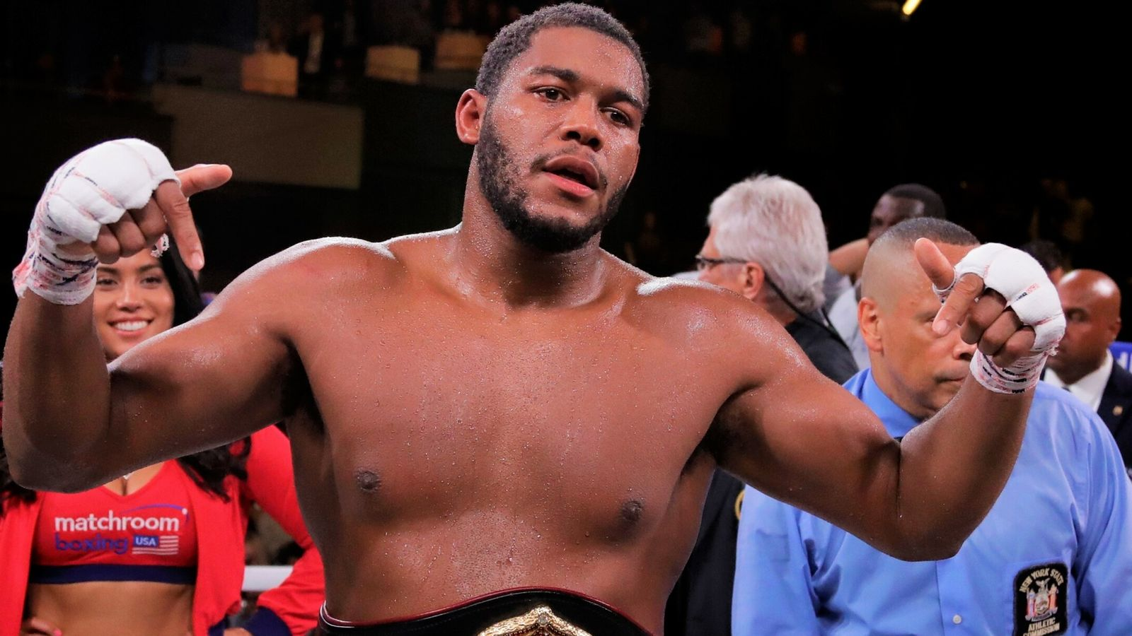 Michael Hunter completes huge knockout win over Mike Wilson to make statement in the heavyweight division