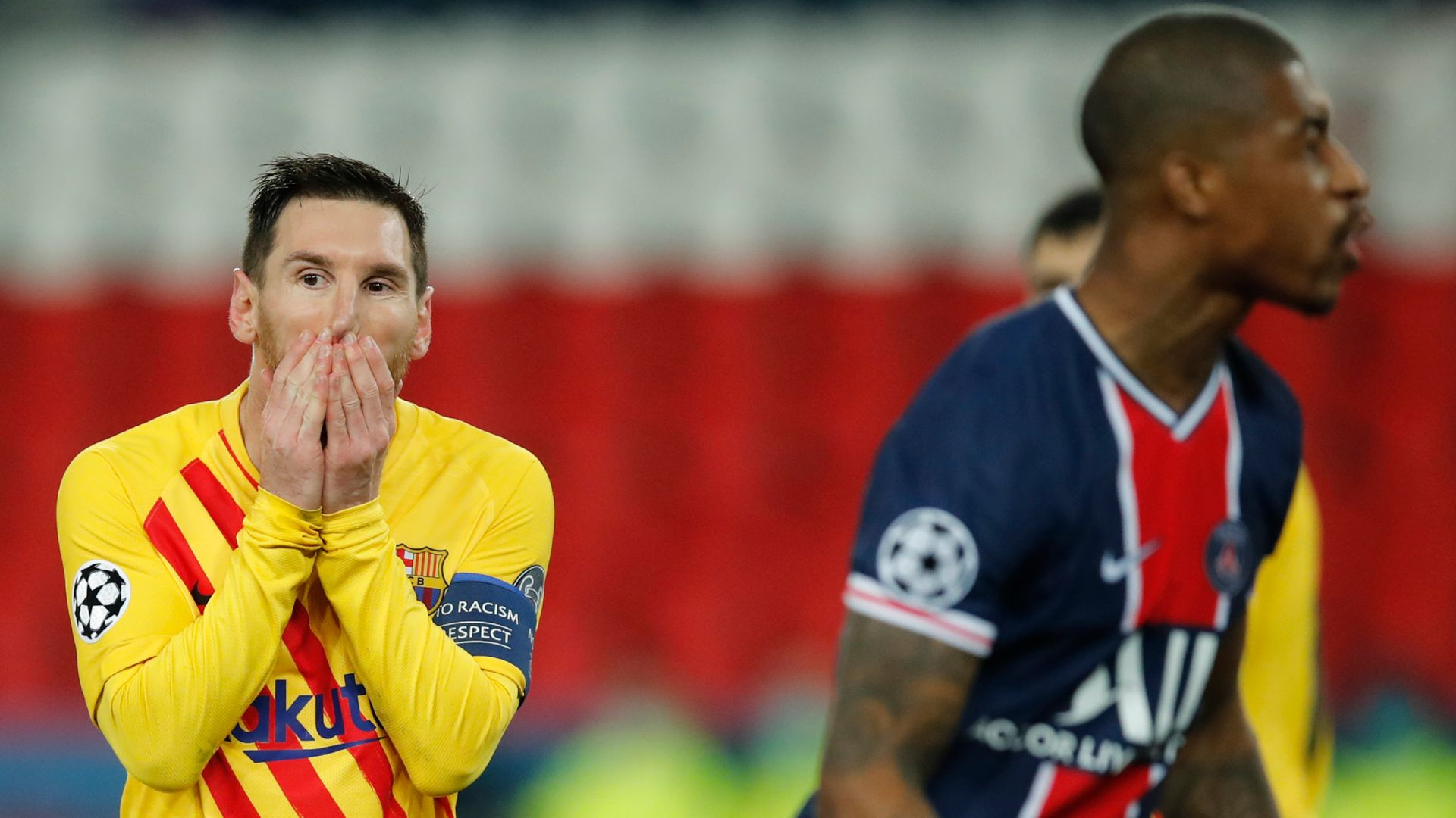 PSG survive early scare to dump out Barca
