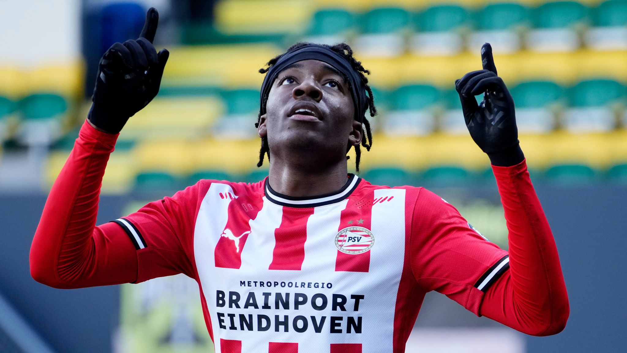 Noni Madueke impressing at PSV: English youngster scores again in  Eredivisie win over Fortuna Sittard | Football News | Sky Sports