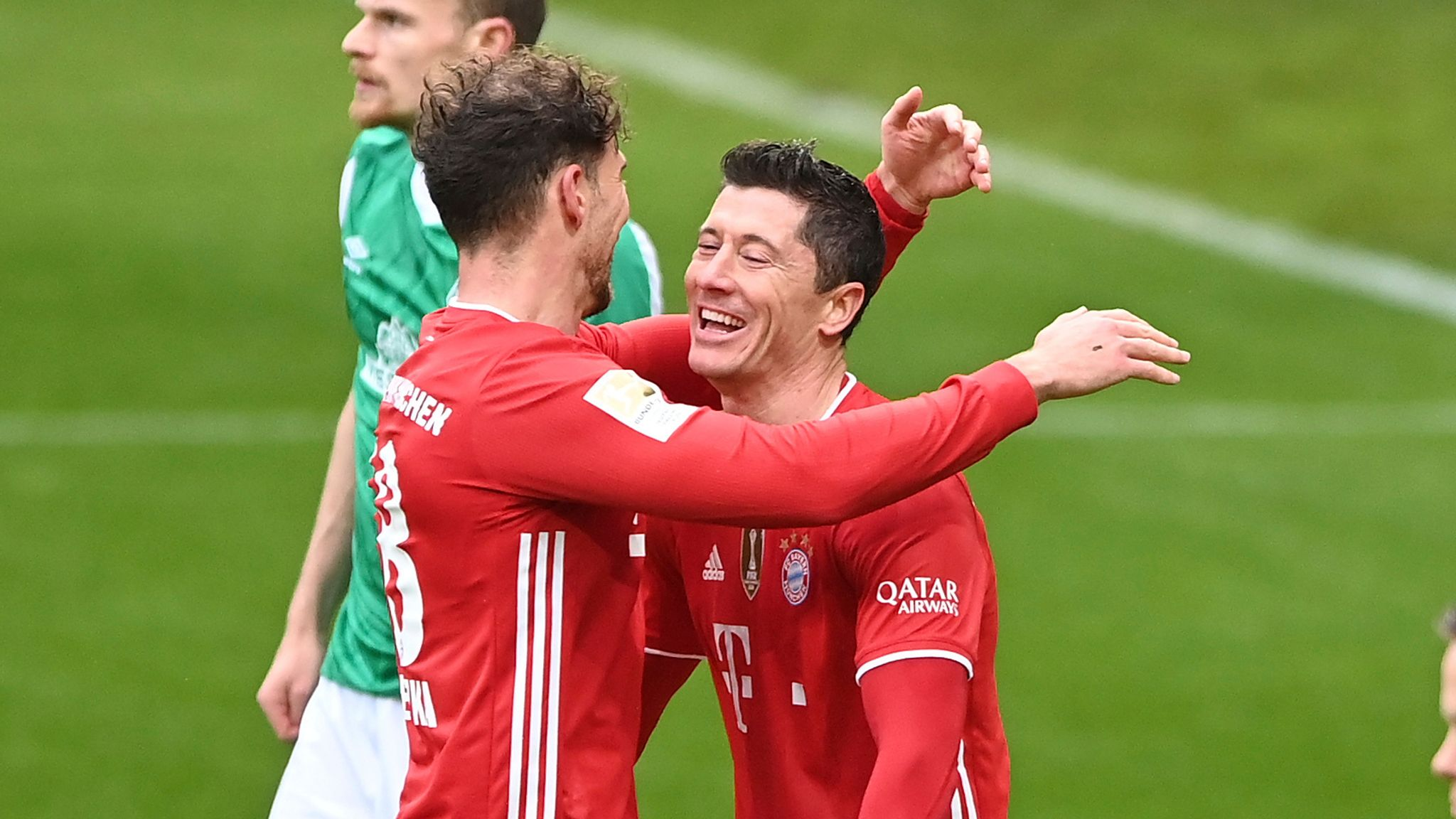 European Round Up Bayern Munich Move Five Points Clear Robert Lewandowski Second In All Time Scorers List Football News Sky Sports