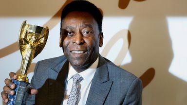 Pele scored his 1000th career goal at the Maracana in 1969