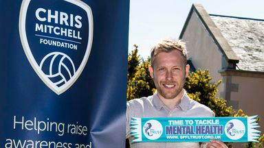 Arfield has been part of the Chris Mitchell Foundation since its inception following the suicide of the Rangers midfielder's best friend